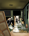 Cartoon: Velasquez.. (small) by berk-olgun tagged las,meninas