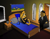 Cartoon: Waterbed... (small) by berk-olgun tagged waterbed