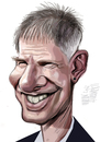 Cartoon: Harrison Ford (small) by Marian Avramescu tagged mmmmmm