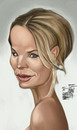 Cartoon: Kristen Bell (small) by Marian Avramescu tagged mmmmmmmmmmmm