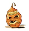 Cartoon: just a halloweenpumpkin (small) by STERO tagged pumpkin,halloween,kürbis