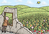 Cartoon: Two sides of view (small) by svitalsky tagged view,war,soldier,blood,dead,killed,corpse,meadow,after,cartoon,svitalsky,svitalskybros