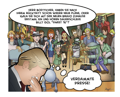 Cartoon: Die Presse 27 (medium) by Die Presse tagged pressekonferenz