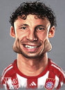 Cartoon: Marc van Bommel FC Bayern (small) by Tonio tagged dutch holland soccer football nationalmanschaft münchen karikatur fussball