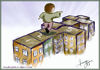 Cartoon: alone cities (small) by recepboidak tagged play kids city cities