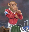 Cartoon: Wayne Rooney (small) by zsoldos tagged soccer,football,sport