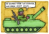 Cartoon: courage (small) by meikel neid tagged courage,zivilcourage,militär,armee,panzer,soldat,zivil