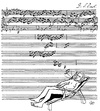 Cartoon: Jazzy (small) by zu tagged bach,fugue,summertime,summer,music
