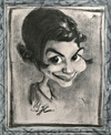Cartoon: Amelie (small) by Avel tagged caricature