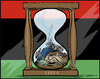 Cartoon: 42 years (small) by jeander tagged gadaffi,gaddafi,terror,revolution,dictator