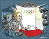Cartoon: Cleaning up (small) by jeander tagged olympic,winter,games,putin,russia,president,sochi,sotij
