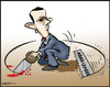 Cartoon: Do it yourself (small) by jeander tagged bashar,al,assad,syria,arab,spring,league,terror,revolution