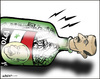Cartoon: Protests across Syria (small) by jeander tagged president,syria,al,assad,protersts,terror,freedom