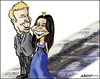 Cartoon: Royal Wedding (small) by jeander tagged royal,wedding,kate,william,marriage,charlesqueen,buckingham,palace,windsor,mountbatten