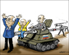 Cartoon: Putins threats (small) by jeander tagged putin,ukraine,gas