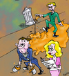 Cartoon: GRP Gripes (small) by andybennett tagged nvq,not,very,qualified,boat,building,fms,falmouth,marine,school