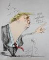 Cartoon: Much Ado About Nothing (small) by yllifinearts tagged donald,trump,birth,certificate,obama,barack