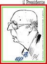 Cartoon: Giorgio Napolitano (small) by Enzo Maneglia Man tagged presidente,giorgio,napolitano,italiano