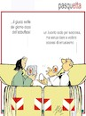 Cartoon: pasquetta (small) by Enzo Maneglia Man tagged fighillearte,umorismo,cassonettari,vignetta,maneglia,man