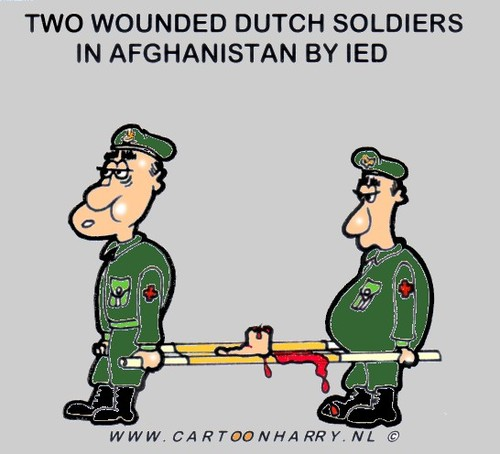Cartoon: ANOTHER TWO (medium) by cartoonharry tagged war,wounded,cartoonharry