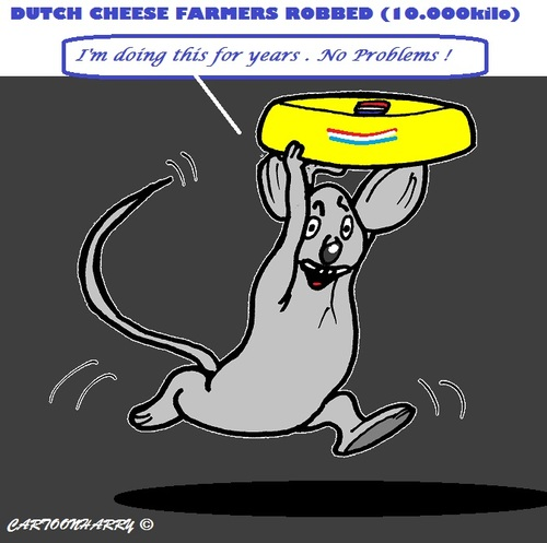 Cartoon: Cheese from Holland (medium) by cartoonharry tagged cheese,holland,mouse
