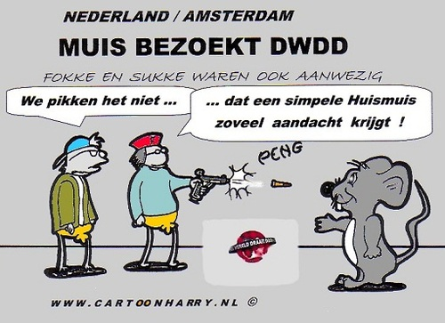 Cartoon: De Wereld Draait Door (medium) by cartoonharry tagged dwdd,fokke,sukke,muis,cartoon,cartoonist,comic,artist,comix,comics,cool,cooles,design,girls,girlie,birds,mouse,vogels,art,kunst,toonpool,facebook,arts,dutch,holland,nederland,cartoonharry