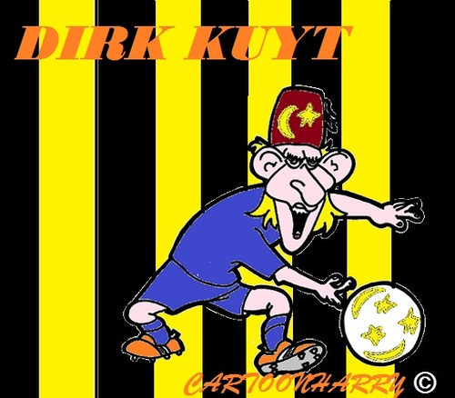Cartoon: Dirk Kuyt (medium) by cartoonharry tagged turkye,kuyt,fenerbahce,caricature,cartoonharry,cartoonist,dutch,toonpool