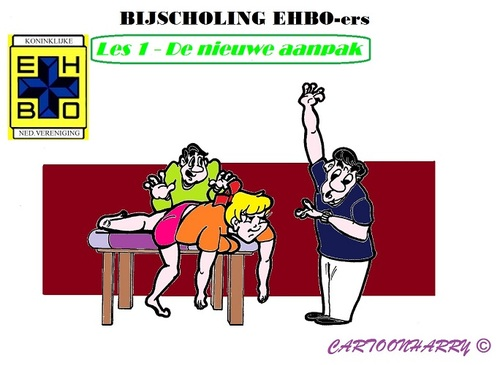 Cartoon: EHBO (medium) by cartoonharry tagged ehbo,aanpak