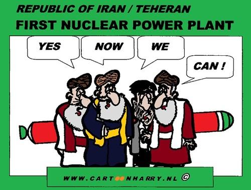 Nuclear Energy Power Plant Nuclear Power Plant Cartoon