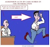 Cartoon: Agression (small) by cartoonharry tagged agression,cartoonharry
