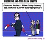 Cartoon: Alarm and Hollande (small) by cartoonharry tagged france,ribboncutting,hollande,alarm,redlights