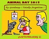 Cartoon: Animal Day 2015 (small) by cartoonharry tagged animalday,2015,4october