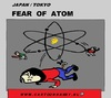 Cartoon: Atom Fear (small) by cartoonharry tagged world,japan,atom,fear,cartoon,comic,comics,artist,comix,art,arts,drawing,cartoonist,cartoonharry,dutch,toonpool,toonsup,hyves,linkedin,buurtlink,deviantart