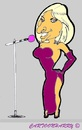 Cartoon: Barbara Streisand (small) by cartoonharry tagged singer,voice,barbara,streisand,usa,caricature,cartoonist,cartoonharry,dutch,toonpool