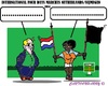 Cartoon: Black Event (small) by cartoonharry tagged walking,fourdays,nijmegen,event,airplanecrash