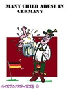 Cartoon: Child Abuse (small) by cartoonharry tagged germany,children,abuse,beer