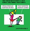 Cartoon: Child Questions (small) by cartoonharry tagged children,questions,many,cartoons,cartoonharry,dutch,toonpool