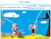 Cartoon: Clever (small) by cartoonharry tagged clever,girl