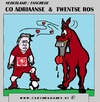 Cartoon: Co Adriaanse (small) by cartoonharry tagged co adriaanse fctwente coach cartoon horse cartoonist cartoonharry toonpool
