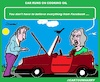 Cartoon: Cooking Oil (small) by cartoonharry tagged coongoil,facebook,man,wife,car