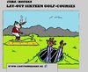 Cartoon: Cuba Golf Courses (small) by cartoonharry tagged golf,course,cuba,money,prison,prisoner,cartoon,cartoonist,cartoonharry,dutch,toonpool