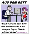 Cartoon: Der Arzt sagt (small) by cartoonharry tagged bett,arzt,mädchen,cartoon,cartoonist,cartoonharry,dutch,deutsch,toonpool