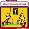 Cartoon: Ecken (small) by cartoonharry tagged ecken,bett,jung,alt,maenner,frauen,jungs