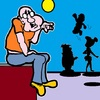 Cartoon: Fantasy Spot (small) by cartoonharry tagged expression,fantasy,spot