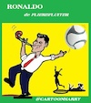 Cartoon: Flierefluiter (small) by cartoonharry tagged flierefluiter,ronaldo,cartoonharry