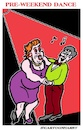 Cartoon: Friday Night Dance (small) by cartoonharry tagged friday,dance,weekend