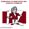 Cartoon: Gertjan Verbeek (small) by cartoonharry tagged verbeek,ontslag,az