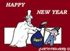 Cartoon: Happy (small) by cartoonharry tagged new,year,happy,2013
