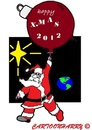 Cartoon: Happy X-mas2012 (small) by cartoonharry tagged all,toonpoolmembers,cartoon,cartoonist,cartoonharry,2012,xmas,dutch,toonpool