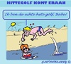 Cartoon: Hittegolf (small) by cartoonharry tagged hittegolf,zomer2015